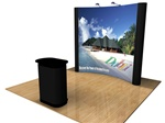 8 foot Pop up display