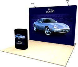 10' Soft Wall Fabric flat pop-up